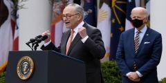 Schumer Legalization Marijuana States Legislation Biden